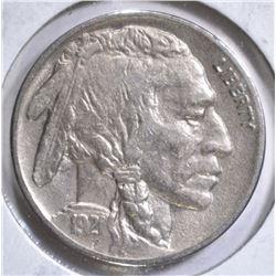 1921 BUFFALO HEAD NICKEL AU