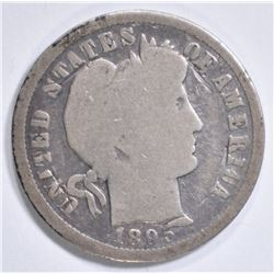 1895-O LIBERTY HEAD DIME  VG