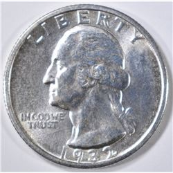 1932-S WASHINGTON QUARTER   GEM BU
