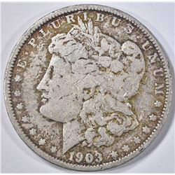 1903-O MORGAN DOLLAR  VG  SOME CONTACT MARKS