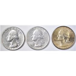 3 WASHINGTON QUARTERS