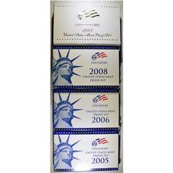 2005, 06, 07 & 08 U.S. ROOF SETS ORIG PACKAGING
