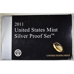 2011 U.S. SILVER PROOF SET IN ORIG PACKAING