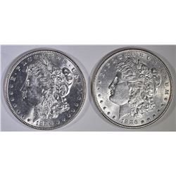 2-1886 BU MORGAN DOLLARS