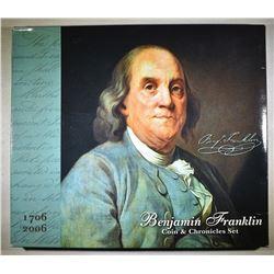 2006 BEN FRANKLIJN COIN & CHRONICLES SET