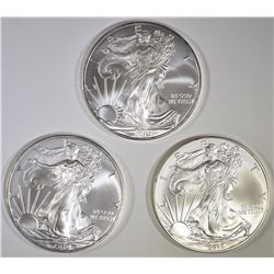 3-2010 BU AMERICAN SILVER EAGLES