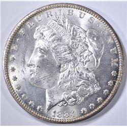 1884-CC MORGAN DOLLAR CH BU