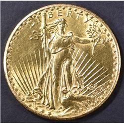 1927 $20 ST. GAUDENS GOLD CH BU