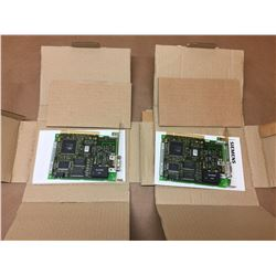 (2) Siemens C79040-A7520-C386-03-86 Communication Card