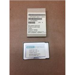 Siemens 6FC5250-6BX30-3AH0 STRATA-CARD