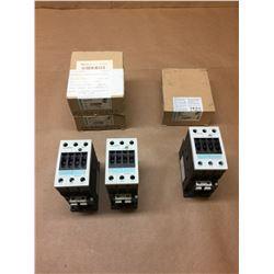 (3) Siemens Contactors 3RT1034-1BB40 & 3RT1035-1BB40 *See Pics*