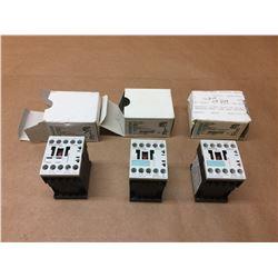 (3) Siemens 3RT1016-1BB41 Contactor