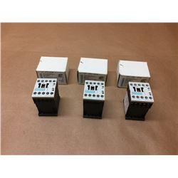 (3) Siemens 3RH1122-1BB40 Contactor