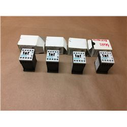 (4) Siemens 3RH1122-1BB40 Contactor
