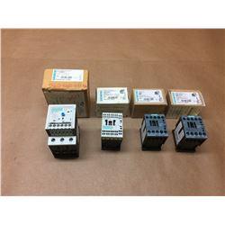 (4) Siemens Contactor 3RB2036-1QB0, 3RH1140-2BB40, 3RT2016-1BB41 & 3RH2131-1BB40