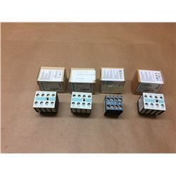 (4) Siemens Contactor 3RH1921-1FA22, 3RH2911-1FA22 & 3RH1921-1FA40 *See Pics*