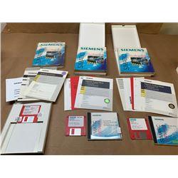 Lot of 3 Siemens Software 6AV3681-1BB06-0AX0, 6AV6584-1AC05-2CX0 & 6ES7671-0RC02-0YX0 *See Pics*