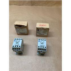 (2) Allen-Bradley Contactors 700-CF400E & 700-CF220
