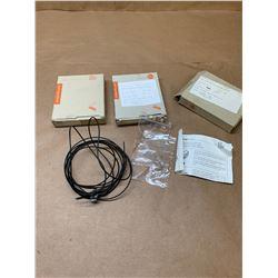 (3) IFM E20603 Fiber Optic Cables