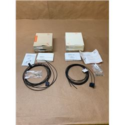 (4) IFM Fiber Optic Cables E20758 & E20757 *See Pics*