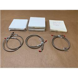 (4) IFM Fiber Optic Cable E20823, E20827 & E20828 *See Pics*
