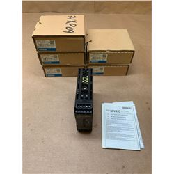 (6) Omron S8VK-G06024 Power Supply
