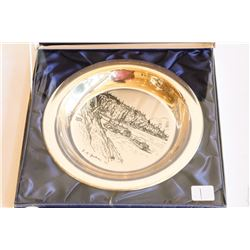 STERLING SILVER COLLECTORS' PLATE