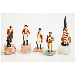 1776 AMERICAN CIVIL WAR CHESS SET
