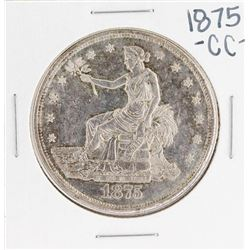 1875-CC $1 Seated Liberty Silver Dollar Coin