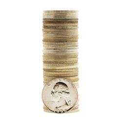 Roll of (40) Proof 1956 Washington Quarter Coins