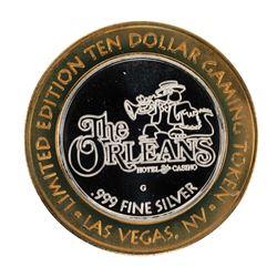 .999 Silver The Orleans Hotel & Casino Las Vegas, NV $10 Casino Token Limited Edition