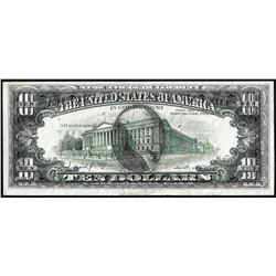 1977A $10 Federal Reserve Note Chicago Full Offset ERROR