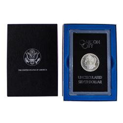 1883-CC $1 Morgan Silver Dollar Coin GSA Hoard Uncirculated w/ Box