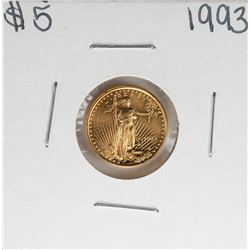 1993 $5 American Gold Eagle Coin
