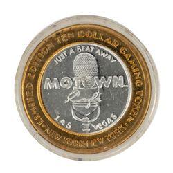.999 Fine Silver New York New York Las Vegas, Nevada $10 Limited Edition Gaming Token