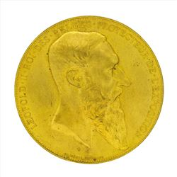 1885 Belgium The World Exhibition Gilt Medal