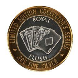 .999 Fine Silver Mystic Lake Casino $10 Limited Edition Gaming Token