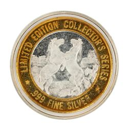 .999 Fine Silver President Casino on the Admiral $10 Limited Edition Gaming Token