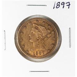 1897 $10 Liberty Head Half Eagle Gold Coin