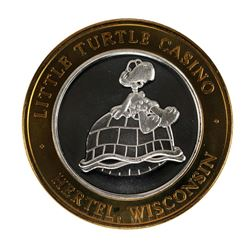 .999 Fine Silver St. Croix Casino $10 Limited Edition Gaming Token