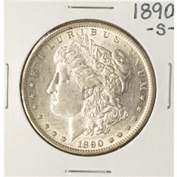 1890-S $1 Morgan Silver Dollar Coin