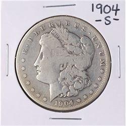 1904-S $1 Morgan Silver Dollar Coin