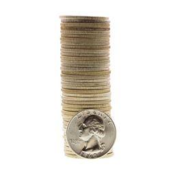 Roll of (40) Brilliant Uncirculated 1960-D Washington Quarter Coins