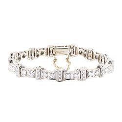 18KT White Gold 2.75 ctw Diamond Bracelet