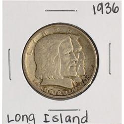 1936 Long Island Tercentenary Commemorative Half Dollar Coin