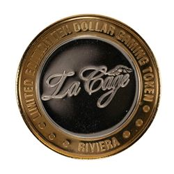 .999 Silver Riviera Hotel and Casino $10 Casino Limited Edition Gaming Token