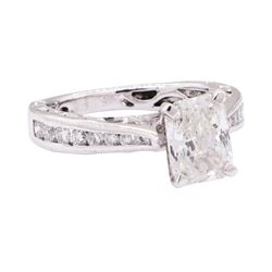 1.48 ctw Diamond Ring - 18KT White Gold