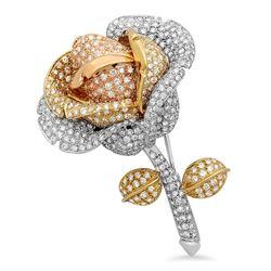 8.38CTW Diamond Pin, (VS1-VS2/G-H)