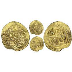 Mexico City, Mexico, cob 8 escudos, 1713J, NGC MS 62, ex-1715 Fleet (designated on special label), e