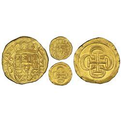 Mexico City, Mexico, cob 8 escudos, 1715J, NGC MS 63, ex-1715 Fleet (designated on special label), e